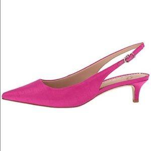 745ac866de2 Sam Edelman Shoes - Sam Edelman Ludlow dupion slingback pumps